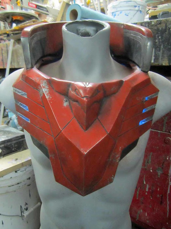 Chest Armor Paint and Lights