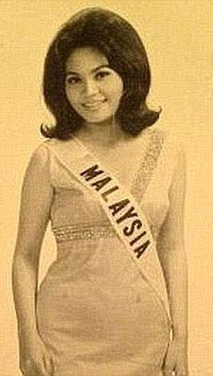 Ms Chai was Miss Malaysia 1969