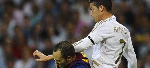 Cristiano Ronaldo e Iniesta