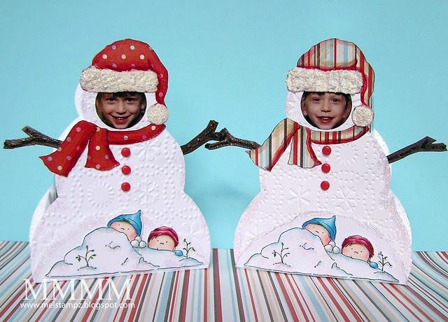 photo snowmen boxes