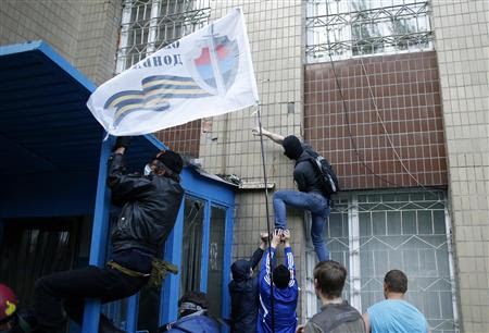Pro-Russians storm Odessa police station, PM slams local police
