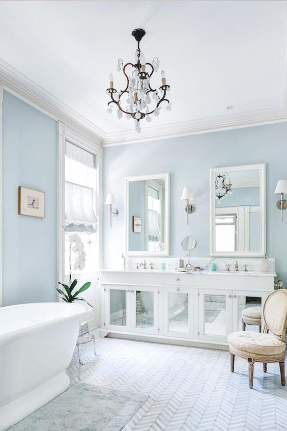 7 Splendid light blue interiors that prove this is the new ...