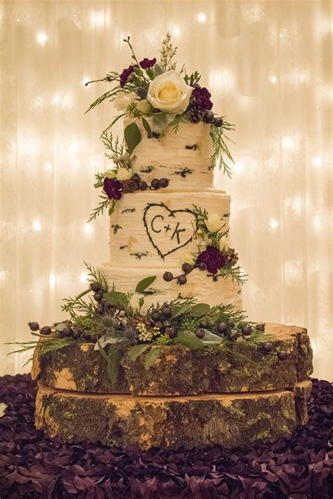 Aspen Tree Buttercream Wedding Cake ? Rexburg Cakes