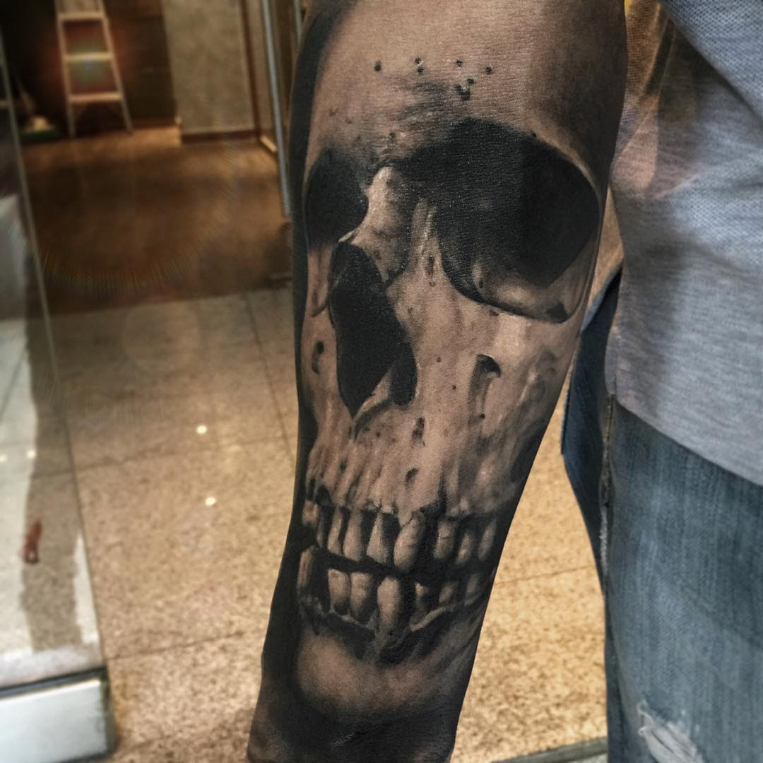 Sleeve Tattoo Skull Best Tattoo Ideas Gallery