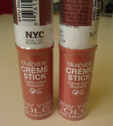 nyc blushable cream stick