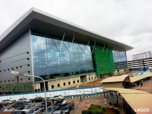 The New Lagos Airport Terminal.