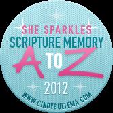 She Sparkles Scripture Memory Challenge 2012