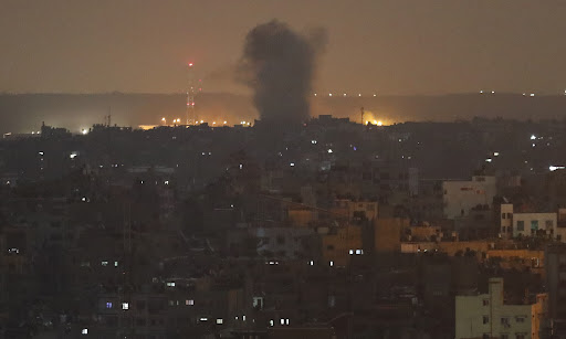 Avatar of Israeli aircraft bomb Hamas positions in Gaza after rocket attack