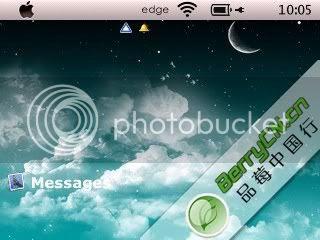lush Theme đẹp dành cho BlackBerry 83xx và 87xx