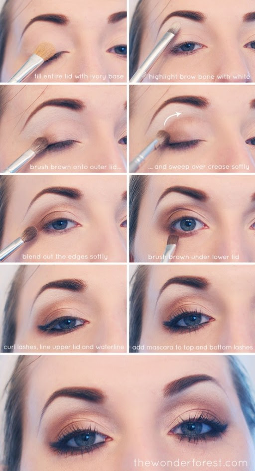 How to make everyday neutral smokey eyes makeup step by step DIY tutorial instructions 512x946 How to make everyday neutral smokey eyes makeup step by step DIY tutorial instructions