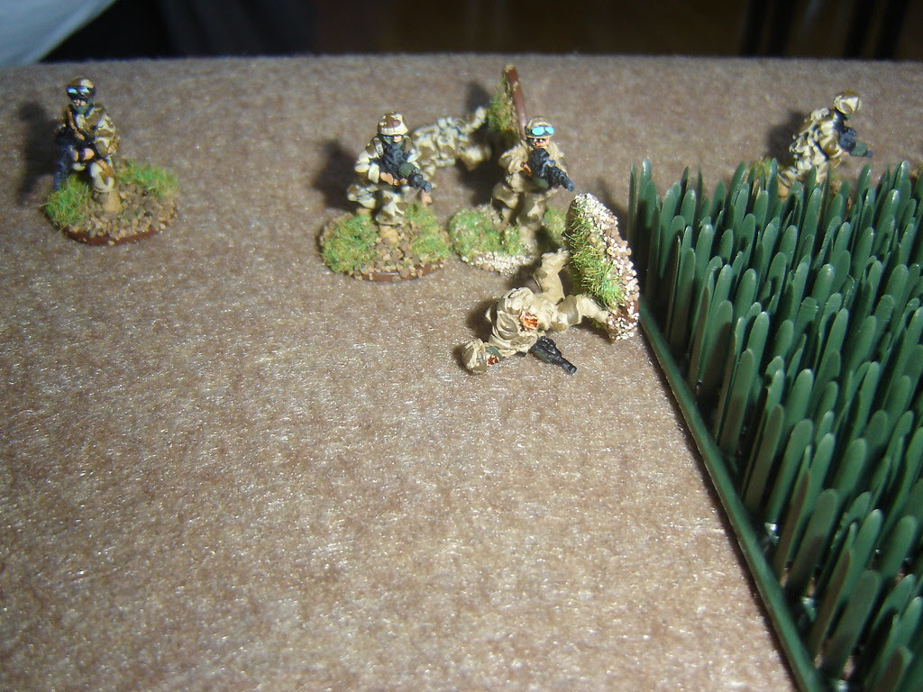 Taking casualties while retreating