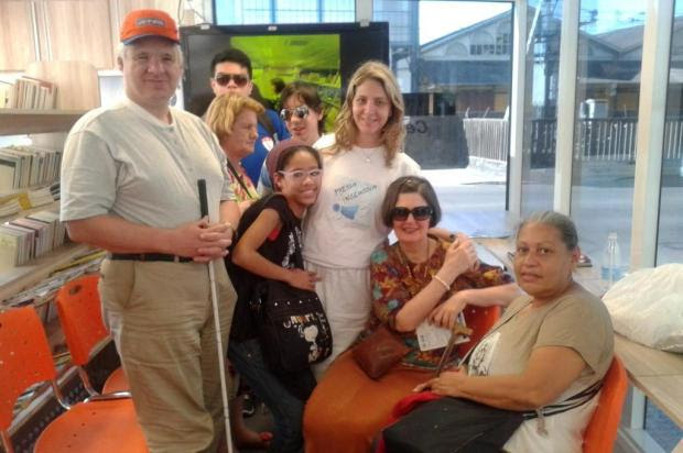 Estação de Acessibilidade promove inclusão social na Feira do Livro Lúcia Righi/Especial