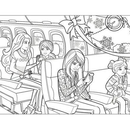 400 Top Barbie Adventure Coloring Pages For Free