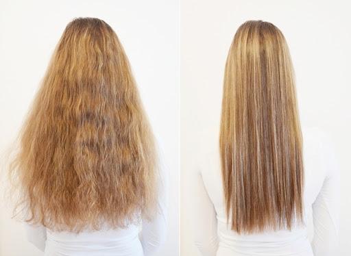 hiusten suoristus