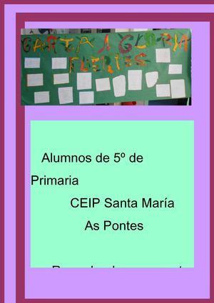 CARTA A GLORIA FUERTES