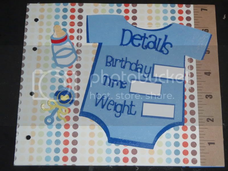 Thefishies Kitchen And Home Baby Boy Mini Album Page 1