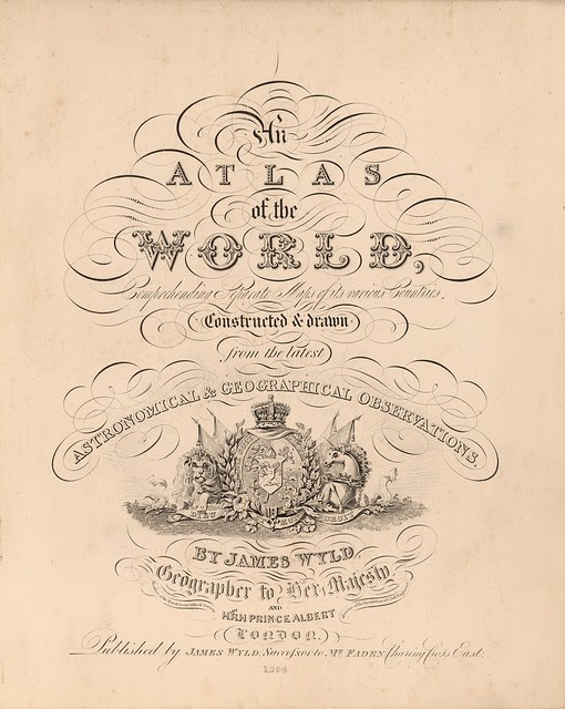An Atlas of the World, Comprehending Separate Maps of its various Countries 1864