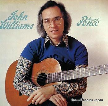WILLIAMS, JOHN ponce; guitar music