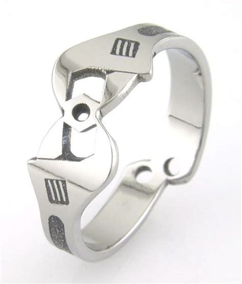Men's Titanium Wrench Wedding Ring   Titanium Buzz