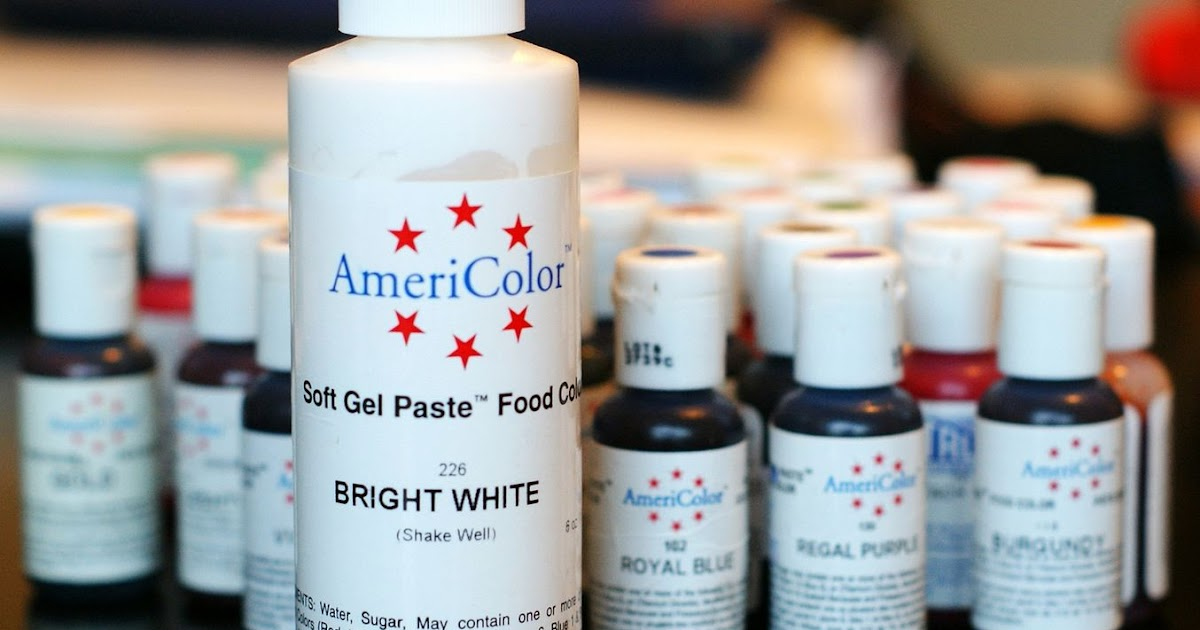 White, yes, WHITE Food Coloring . . . Works for Me Wednesday ...