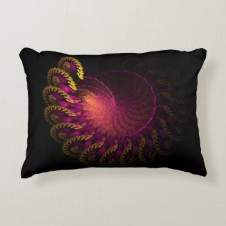 Purple Dimension Pillow