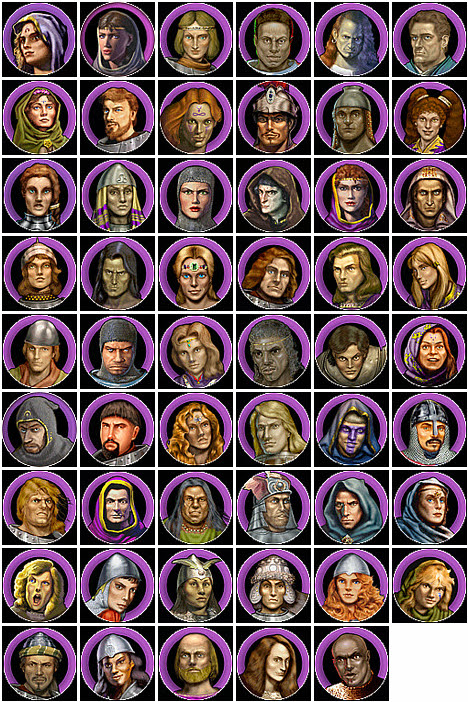 Heroes of Might and Magic 4 Haven Heroes