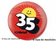 Το 35ωρο ήταν βασική διεκδίκηση των συνδικάτων μετάλλου.