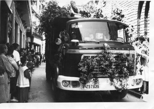 Camió Barreiros de TRANSPORTS CARBONELL de Ribes de Fréser