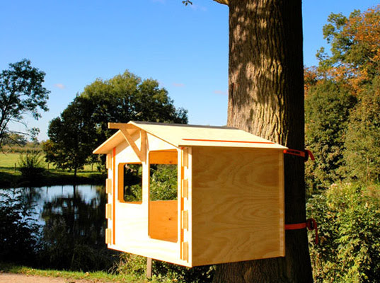 Build Your Own Treehouse in 6 Easy Steps | Inhabitat - Sustainable ...