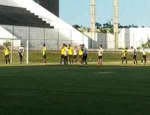 ABC - treino coletivo - Estádio Frasqueirão (Foto: Divulgação/ABC)