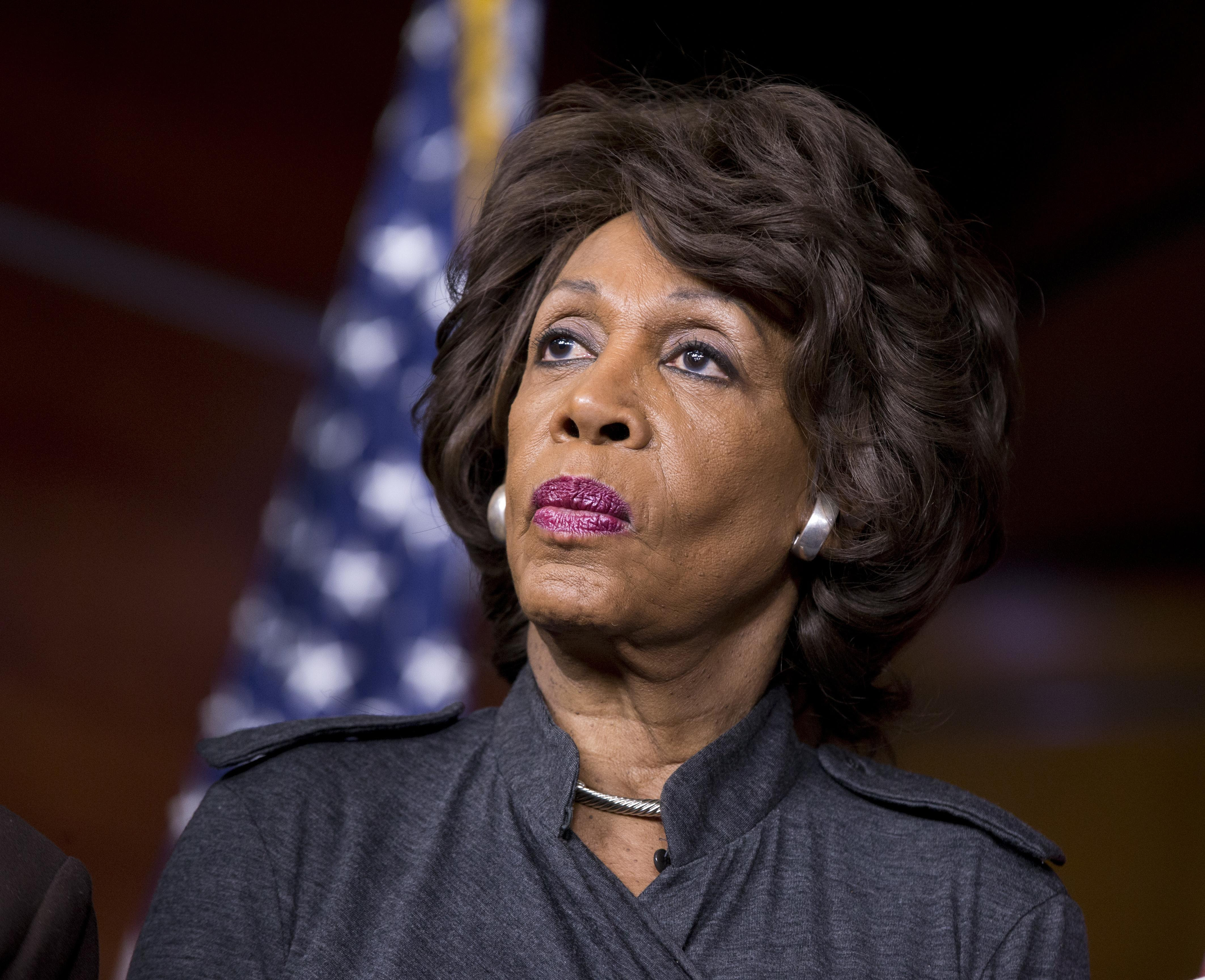 Image result for Maxine Waters Accuses Democratic Law School Professor of Being a 'Racist' in Defense of Trump