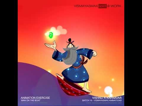 Classical Animation Exercise  Vishnu Karnavar  Vismayasmax Animations