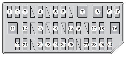 Toyota Prius From 2012 Fuse Box Diagram Auto Genius