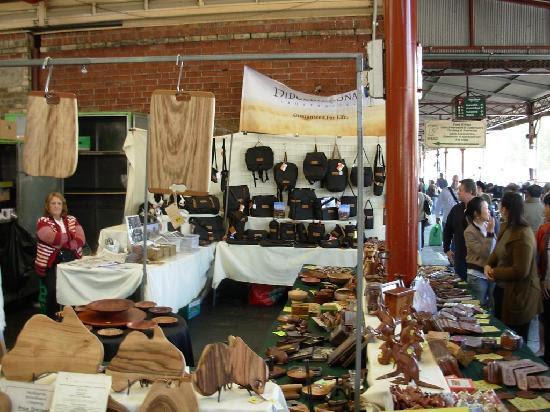 victoria flea market - picture of queen victoria market