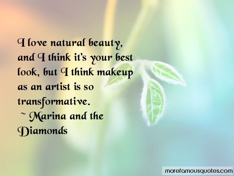 Quotes About Natural Beauty Vs Makeup Top 9 Natural Beauty Vs