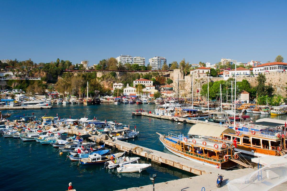 11. Antalya, Turkey: 11.5 million international visitors