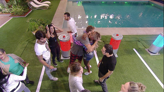 Daniel vence prova do líder Tarde casa 28_01 (Foto: TV Globo)