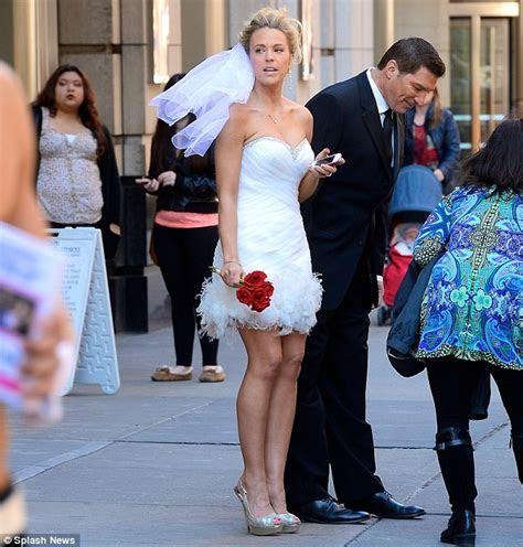 Kate Gosselin Wears Wedding Dress for Celebrity Apprentice