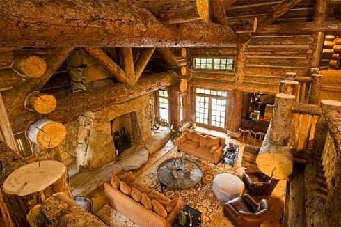 Log Cabin Interior Design . . . An Extraordinary Rustic Retreat!