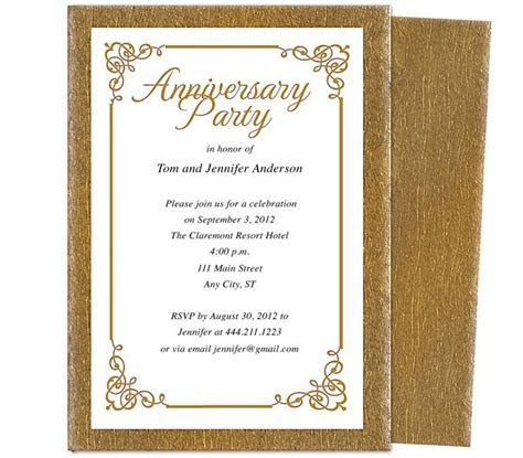 Wedding Anniversary Party Templates : Laurel Wedding