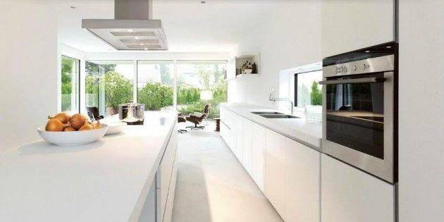 Diseños de Cocinas Blancas 6 Atractivos Diseños de Cocinas Blancas