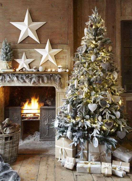 38 Stylish Christmas Décor Ideas In All Shades Of Grey   DigsDigs