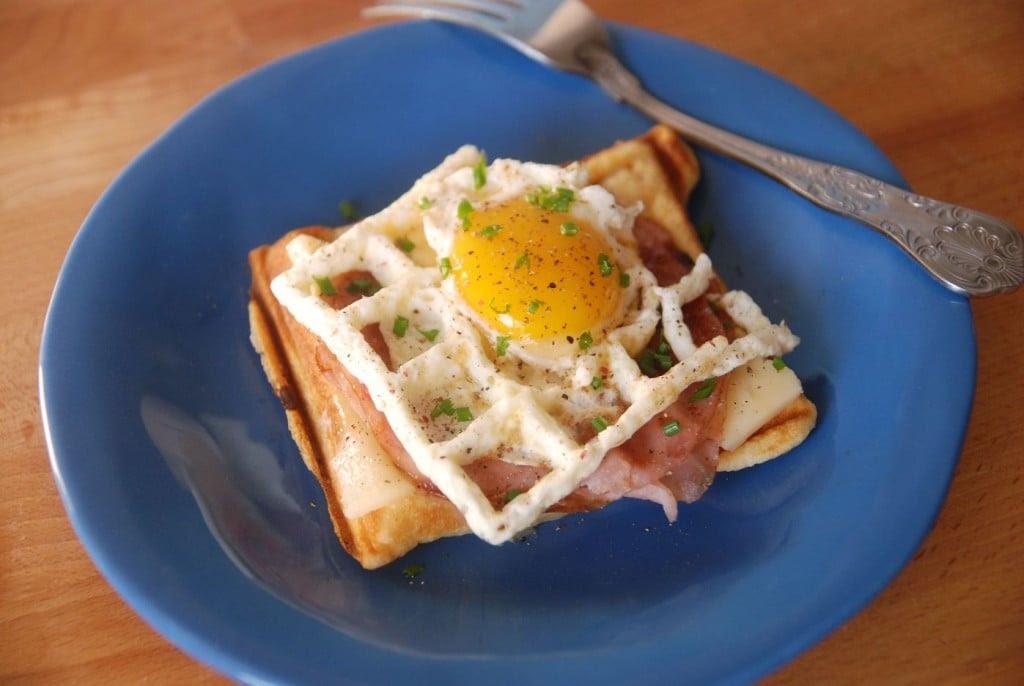 Waffle Croque Madame