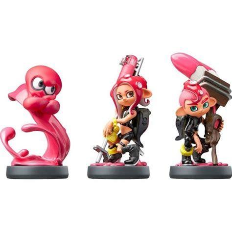Nintendo   amiibo Figure 3 Pack (Splatoon Octoling