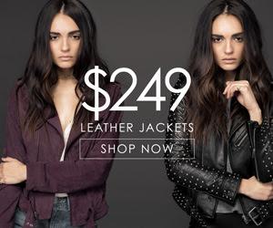 $249 Leather Jackets