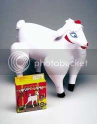 Mascota hinchable Loving Lamb