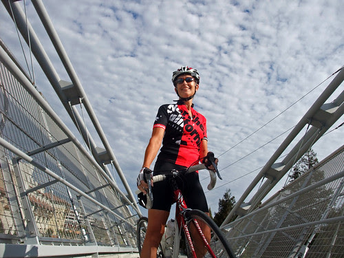 Tricia bike bridge