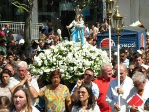 Corrida faz parte das comemorações ao dia da padroeira, Nossa Senhora de Belém (Foto: Divulgação/Paróquia e Catedral Nossa Senhora de Belém)