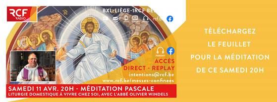 Méditation de la Nuit de Pâques sur RCF