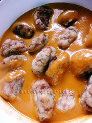 cocer en la salsa